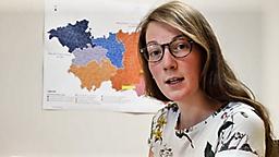Trophée des métiers et la vidéo d'Hannah Deville,lauréate