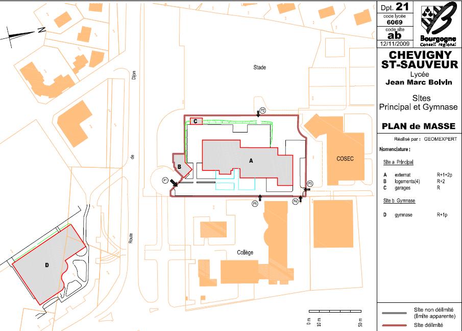 Description du site architecture et construction - Plan de masse et plan de situation ...