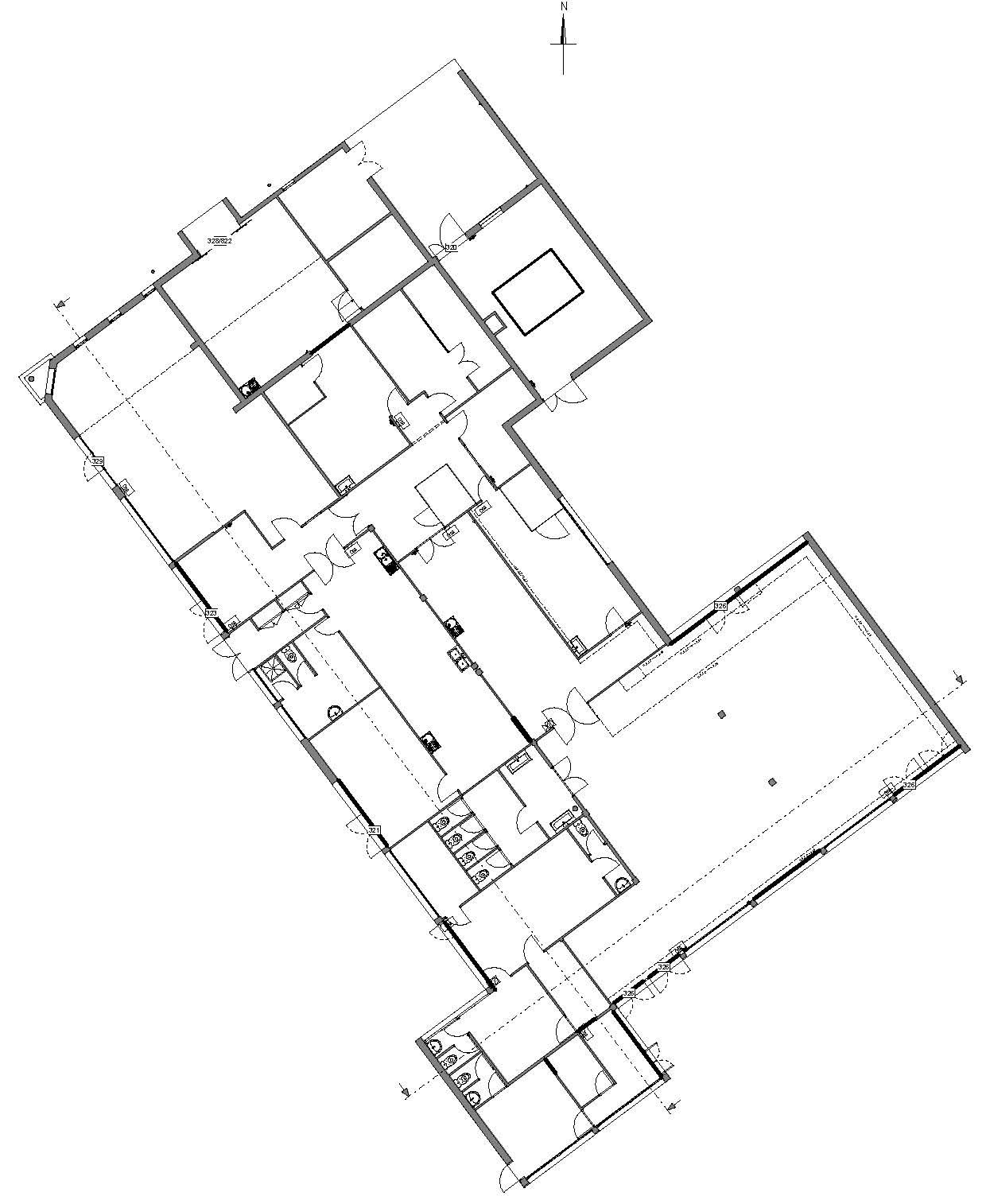 etude multidomaine d 39 une cantine agencement clairage acoustique thermique structure. Black Bedroom Furniture Sets. Home Design Ideas
