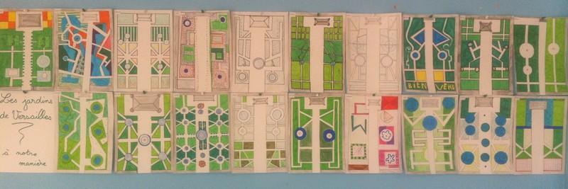 Le site de l 39 cole de martigny les bains cm1 cm2 2012 - Le jardin de versailles histoire des arts ...