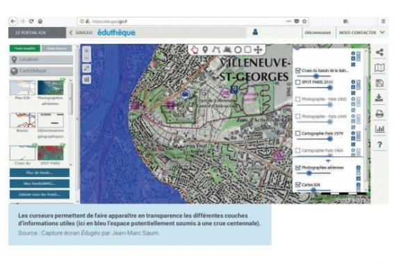 Étudier la question de la vulnérabilité et la gestion des risques dans le bassin parisien avec des QR codes