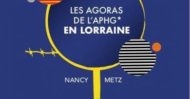 """Les Agoras de l'APHG """" La Lorraine un territoire de fronts et de frontières"""""""