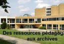 Les services pédagogiques des archives