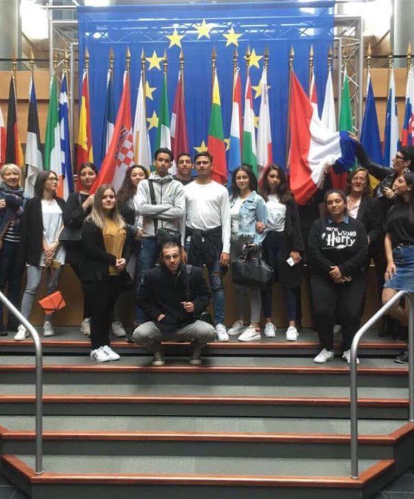 Les élèves de 1GA2 et TGA2 visitent le Parlement européen à Strasbourg