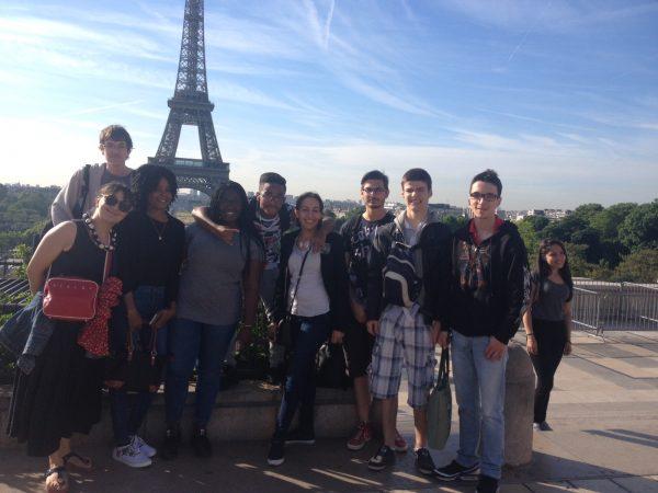 Voyage à Paris par Forian Citto (2 COM1) et Bryan Semet (T OOL)