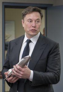Portrait Elon Musk