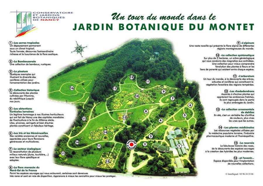 Jardin botanique du montet for Jardin botanique nancy