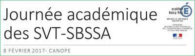 Titre - journée académique des SVT-SBSSA