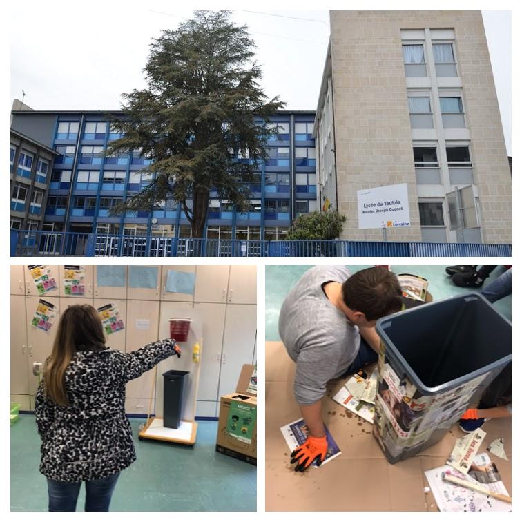 ZOOM sur : projet » Trier en s'amusant» au lycée des Métiers du Toulois