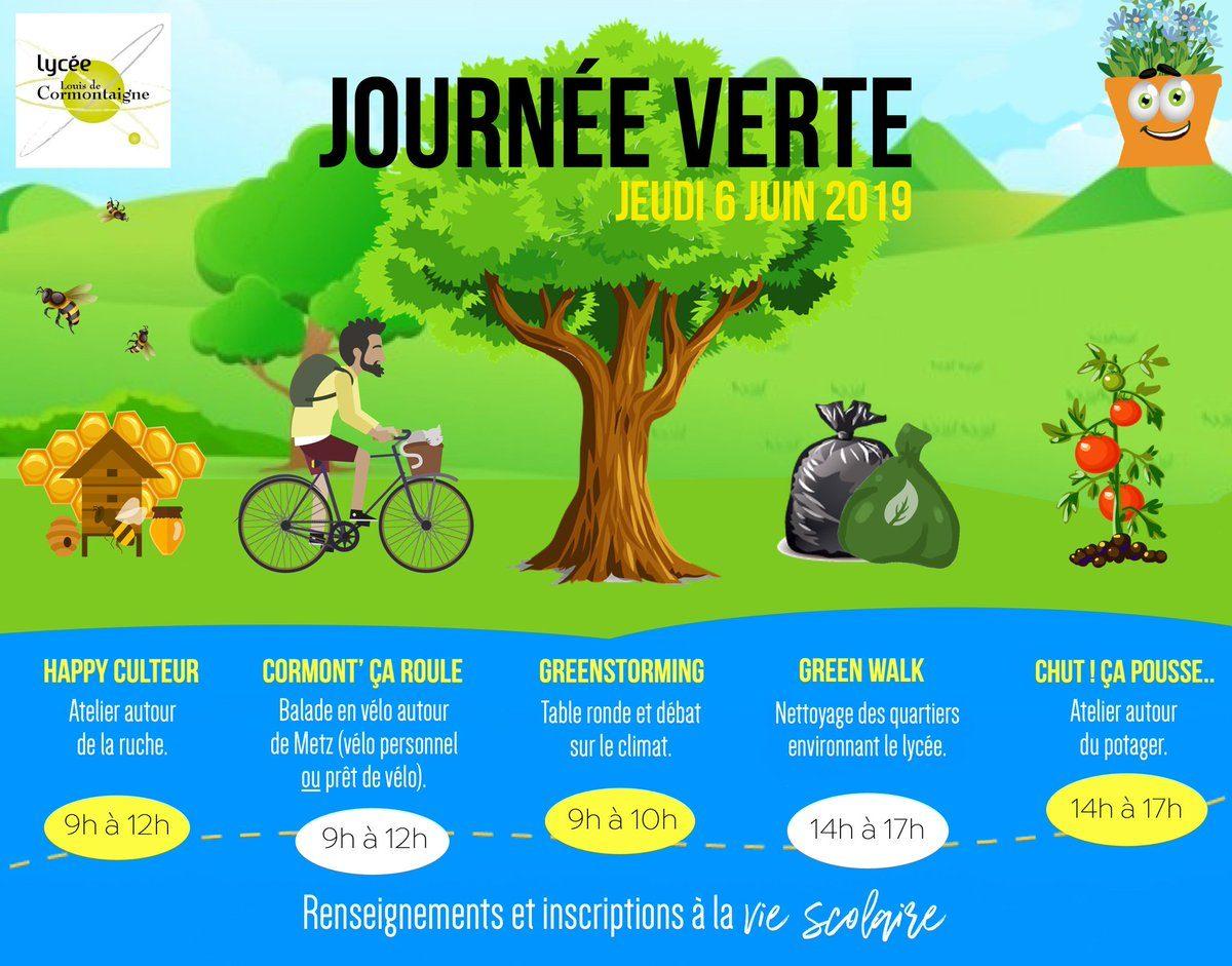 Focus : «Journée verte» au LPO de Cormontaigne !