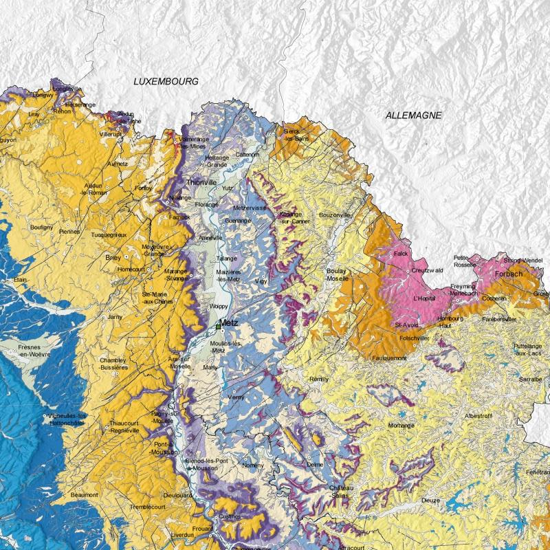 Carte Geologique Lorraine.Cote De Lorraine Contexte Geologique