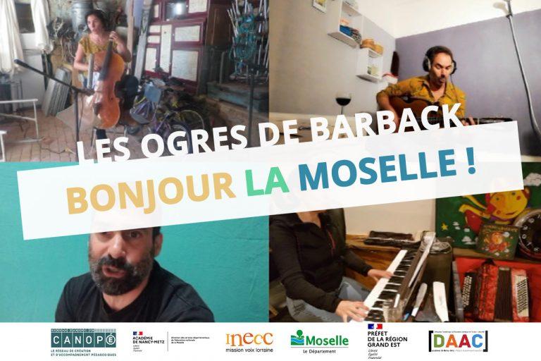 Bonjour la Moselle Ogres de Barback Je sais pas projet charte eac57 dsden inecc cpem