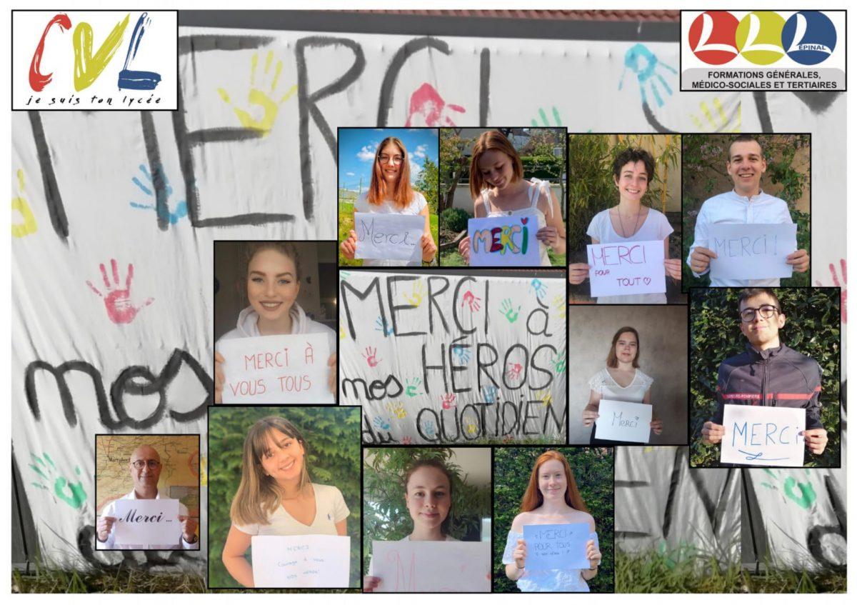 Focus sur l'initiative du CVL du lycée Lapicque – Epinal