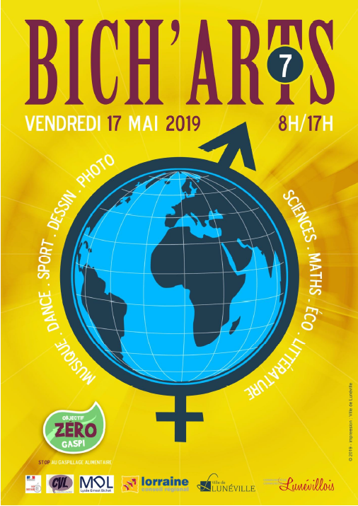 Focus sur un festival lycéen : Bich'arts au Lycée Bichat de Lunéville